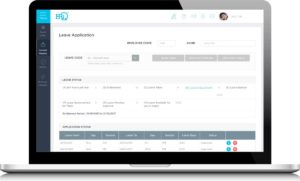 HRiQ HRMS Leave Management System - Employee Self Service